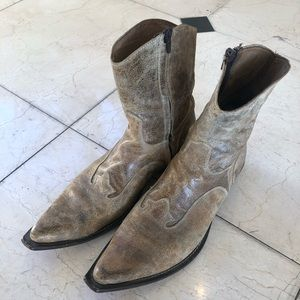 Leather Boots Size 10